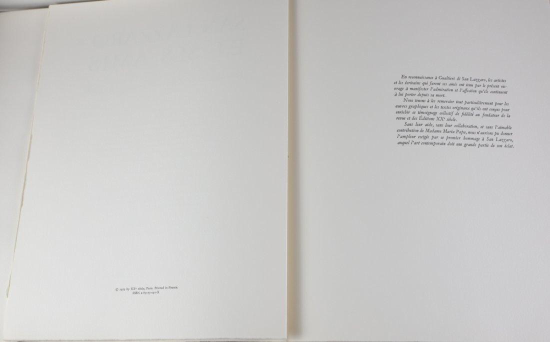 San Lazzaro Et Ses Amis' Portfolio XX Siecle 1975 - 4