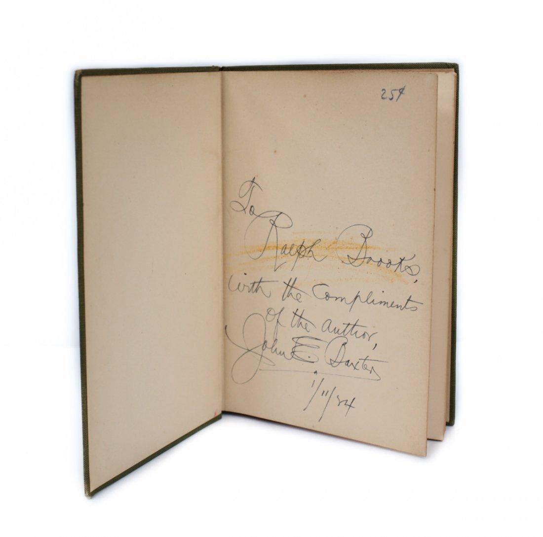 Baxter, John E Locker Room Ballads 1st Ed Signed 1923 - 4