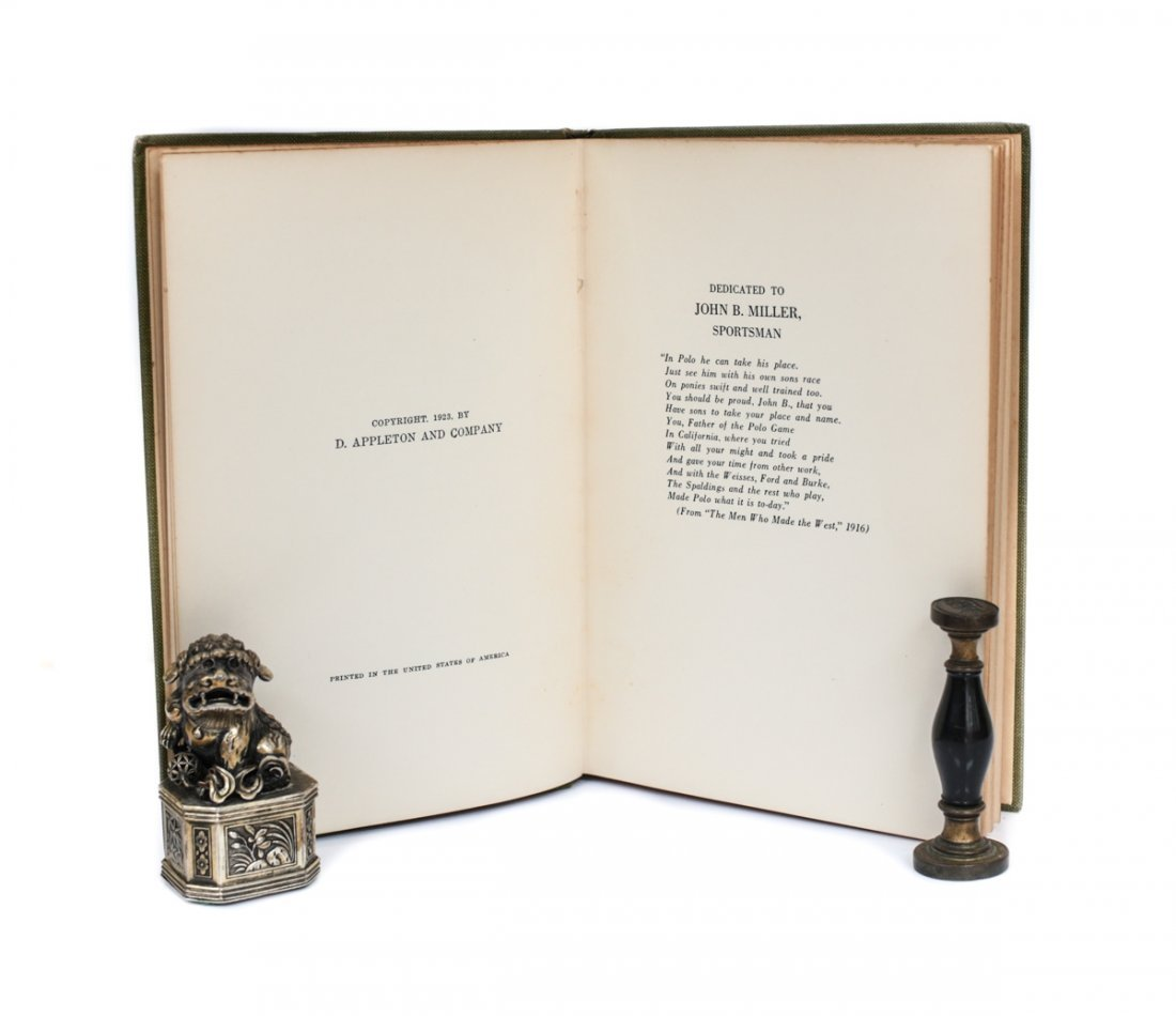 Baxter, John E Locker Room Ballads 1st Ed Signed 1923 - 6