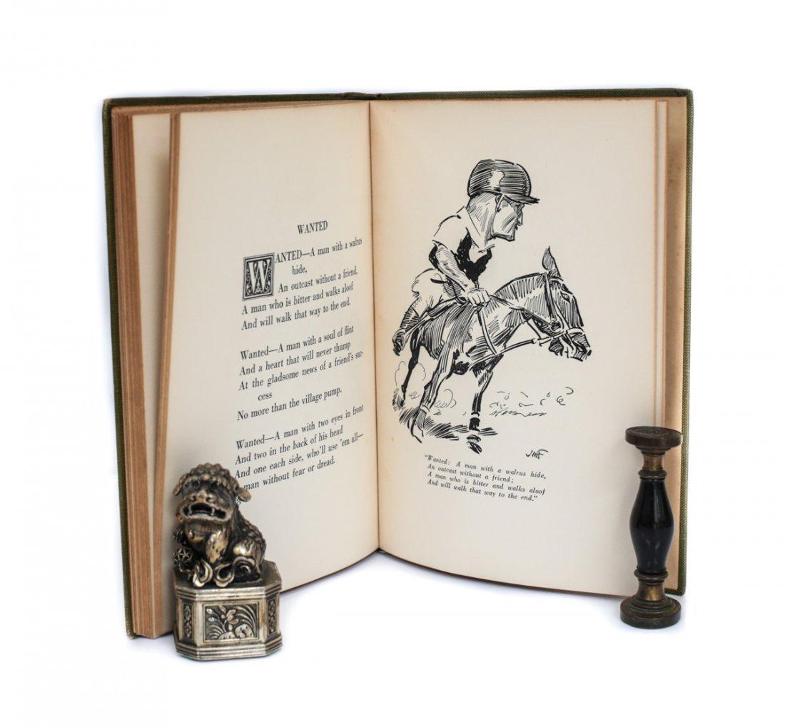 Baxter, John E Locker Room Ballads 1st Ed Signed 1923 - 7