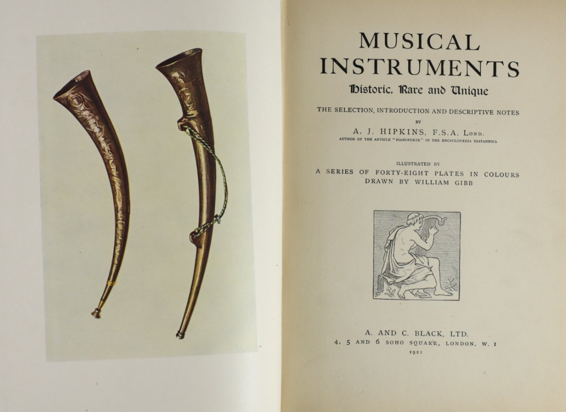 Hipkins, A.J. Musical Instruments Historic 1921 - 5