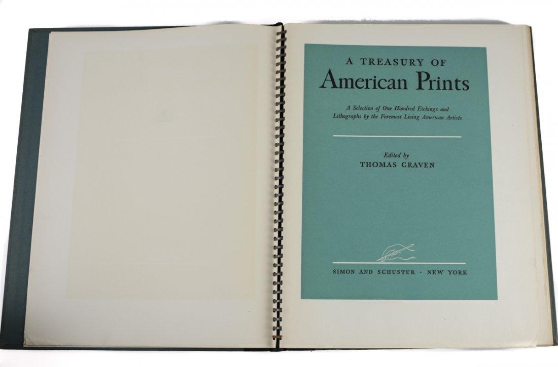 Craven, Thomas A Treasury of American Prints 1939 - 3