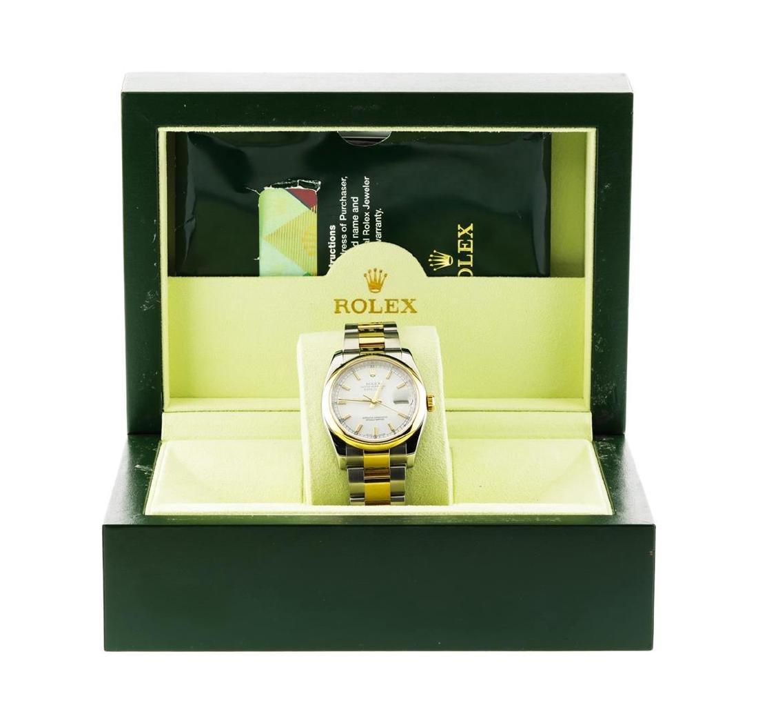 Men's Rolex Datejust Stainless Steel & 18K Gold 116203