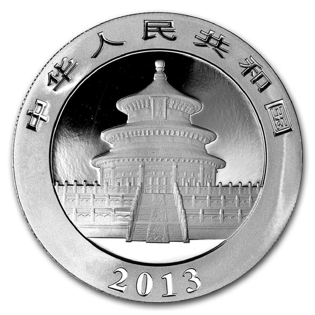 2013 10 Yuan China Silver Panda Coin - 2