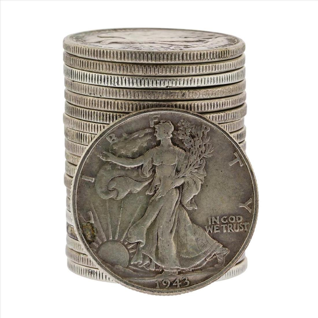 1943 Walking Liberty Half Dollar Coin