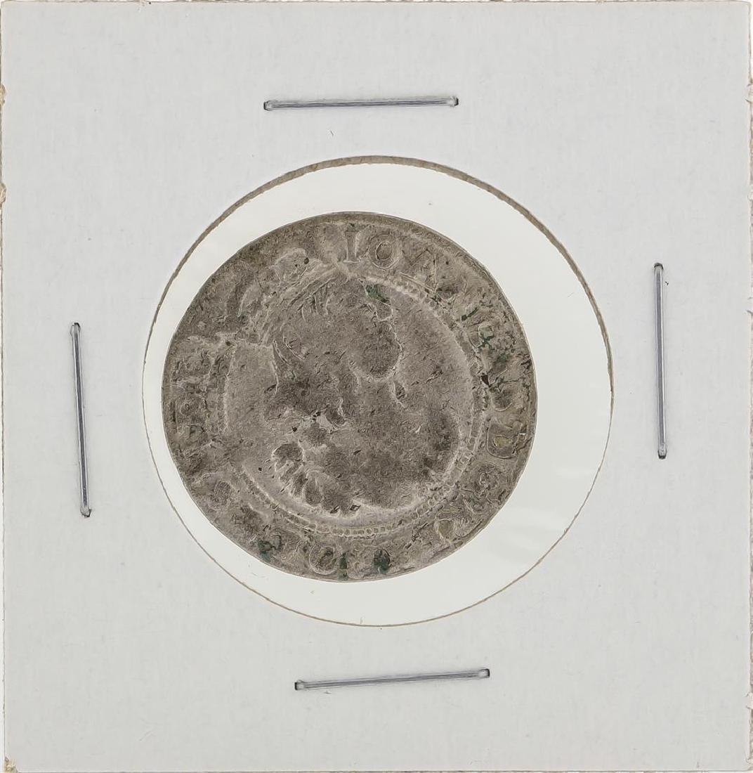 1667 AT Poland KM121 6 Goschen Coin - 2