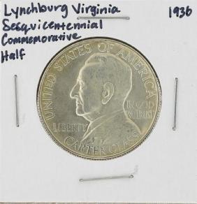 1936 Lynchburg Virginia Sesquicentennial Commemorative