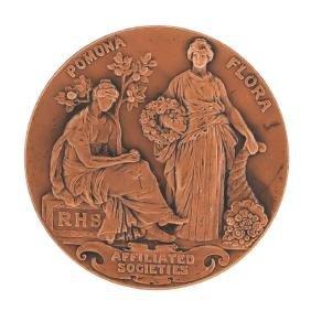 England Royal Horticultural Society Award Engraved