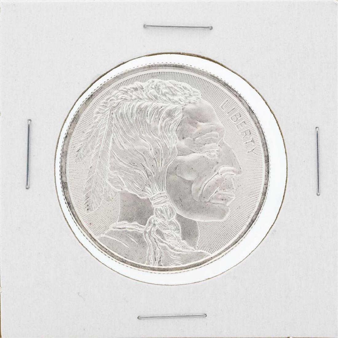 1 oz .999 Fine Silver Buffalo Round - 2