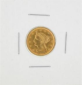 1900 $2 1/2 Liberty Head Quarter Eagle Gold Coin