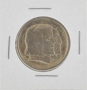 1936 Long Island Tercentenary Commemorative Half Dollar