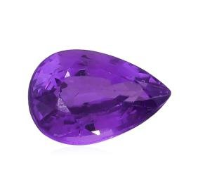GIA Certified  1.12ct Natural Unheated Purple Sapphire