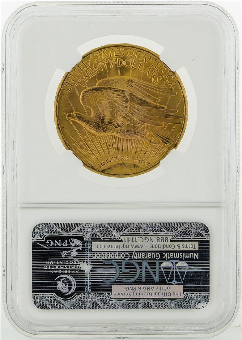 1927 $20 St. Gaudens Double Eagle Gold Coin NGC MS65+ - 2