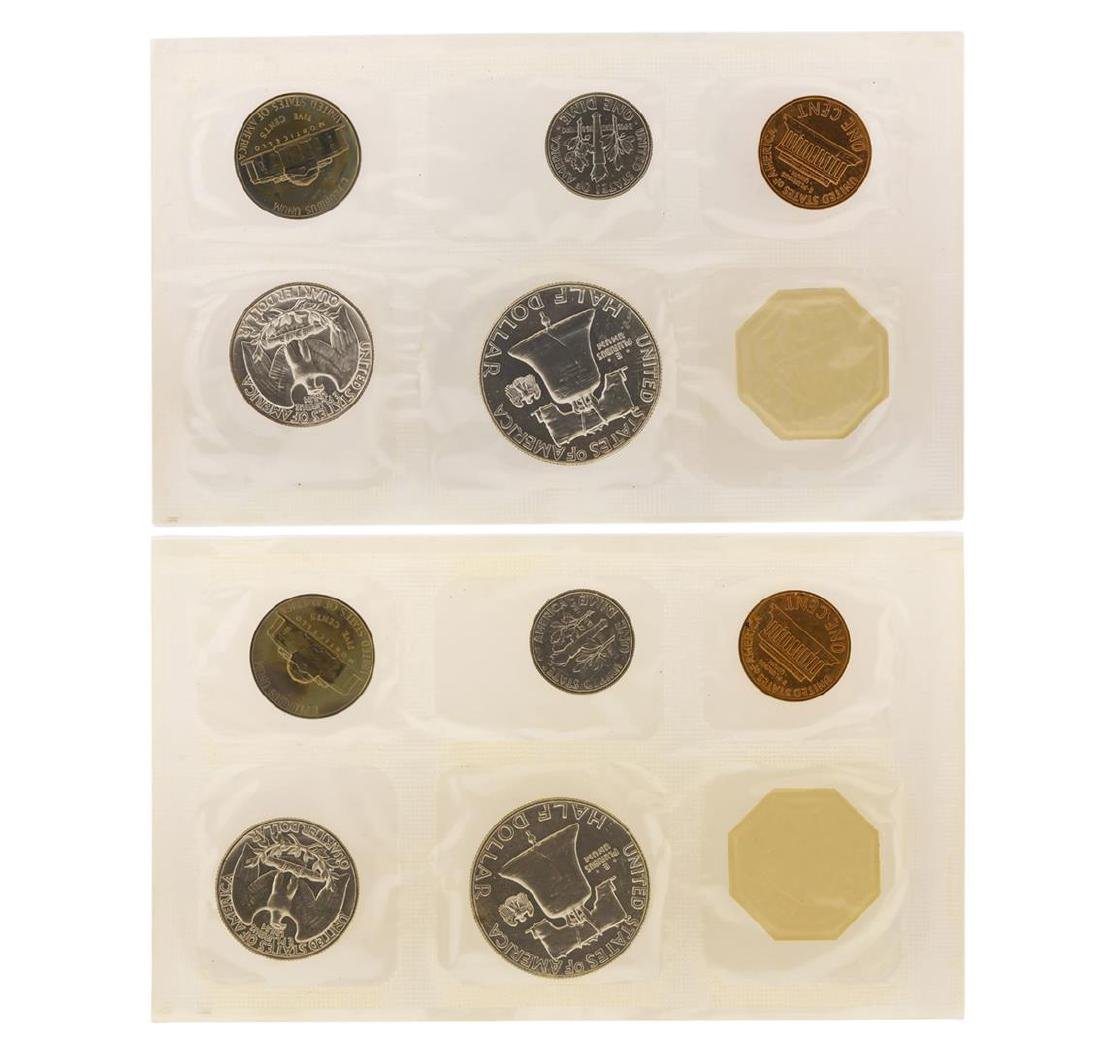 1961-1962 Proof (5) Coin Sets - 3