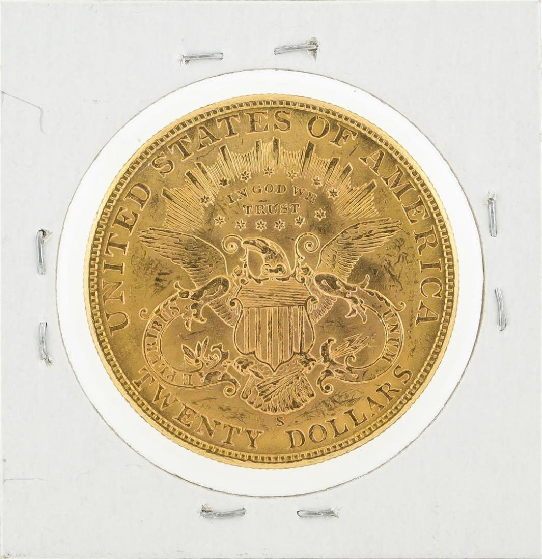 1904-S $20 Liberty Head Double Eagle Gold Coin - 2