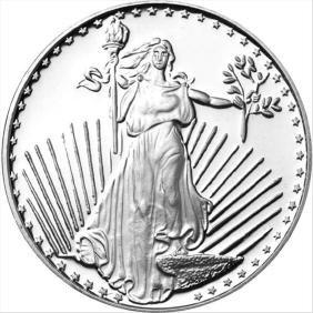 1 oz Saint-Gauden Silver Round