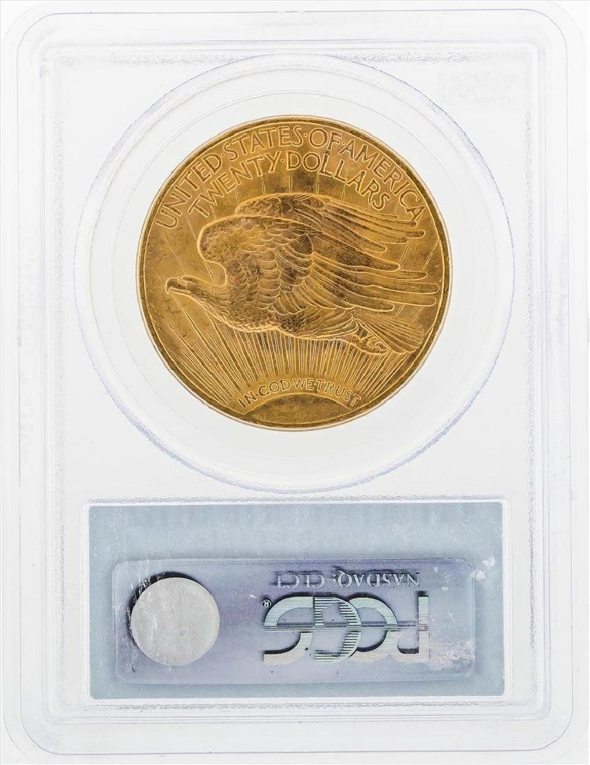 1924 $20 St. Gaudens Double Eagle Gold Coin PCGS MS64 - 2
