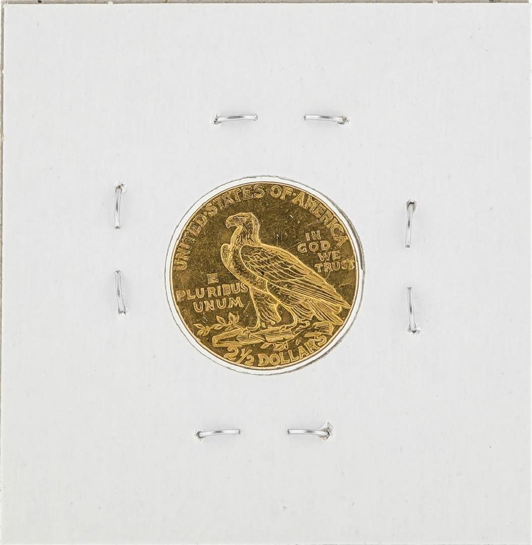 1912 $2 1/2 Indian Head Quarter Eagle Gold Coin - 2