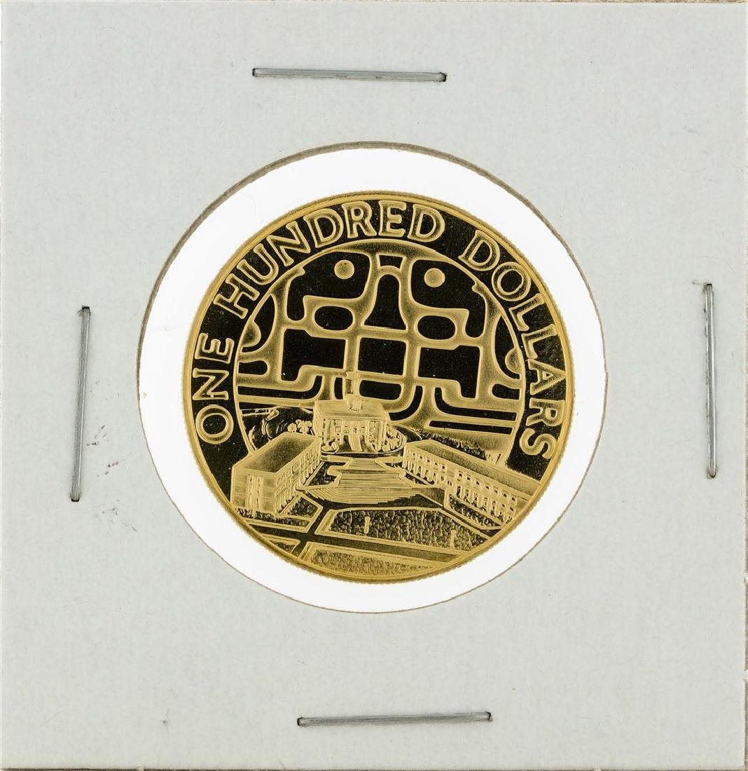1975 Belize $100 Gold Coin