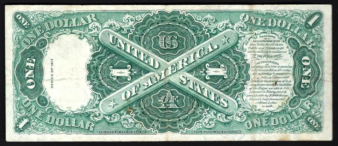 1917 $1 Large Size Legal Tender Note - 2