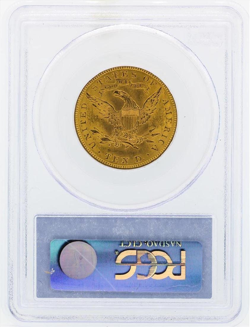 1907 $10 Liberty Head Eagle Gold Coin PCGS MS62 - 2