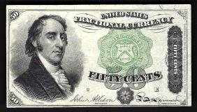 March 3, 1863 10 Cent 4th Issue Fractional Note