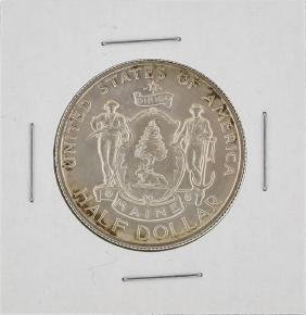 1920 Maine Centennial Commemorative Half Dollar Coin