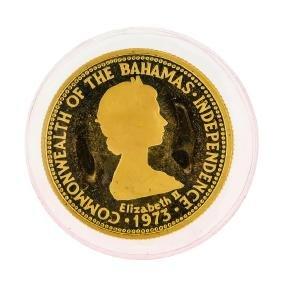 1975 Bahamas 50 Dollar Gold Coin