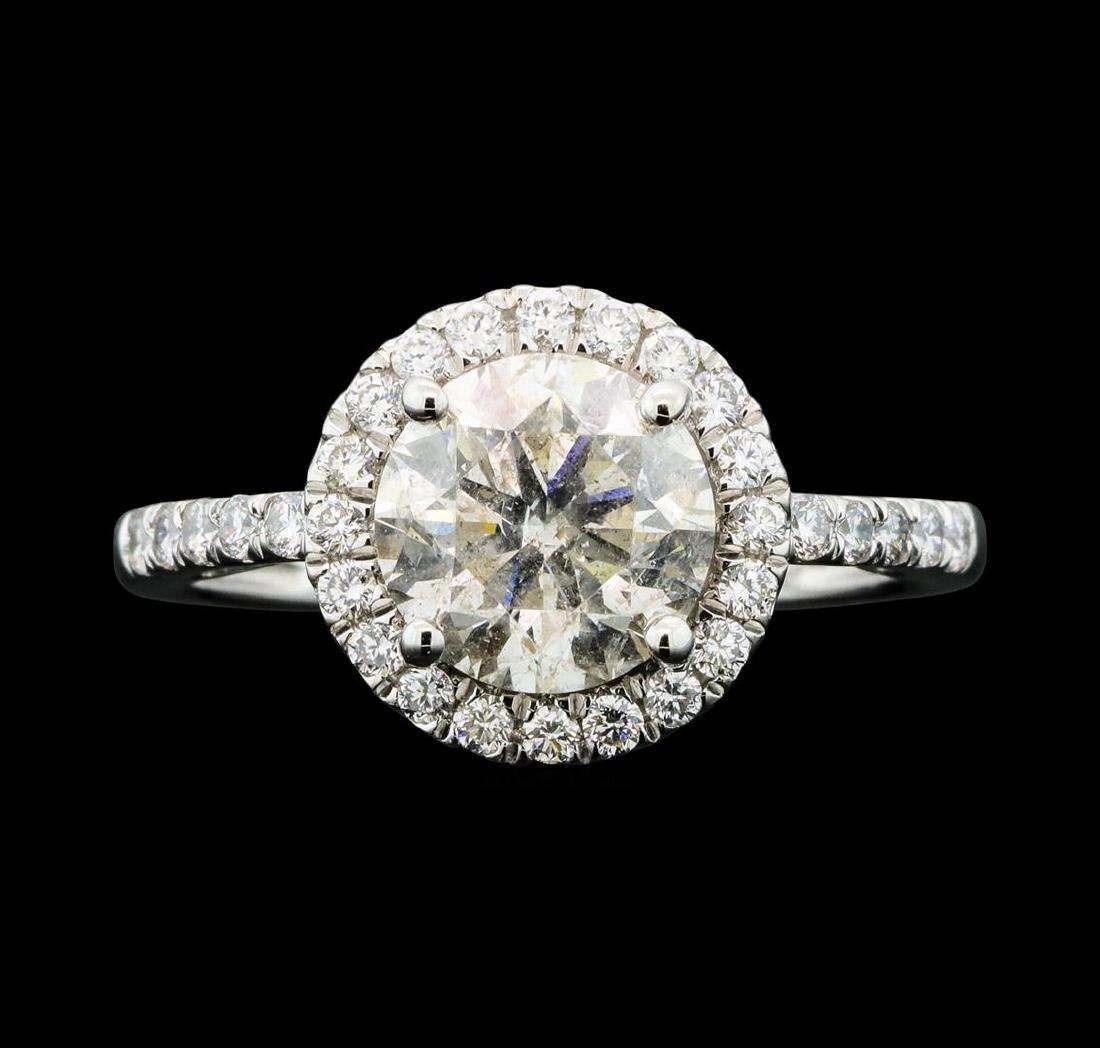 Platinum 2.42ctw Diamond Ring
