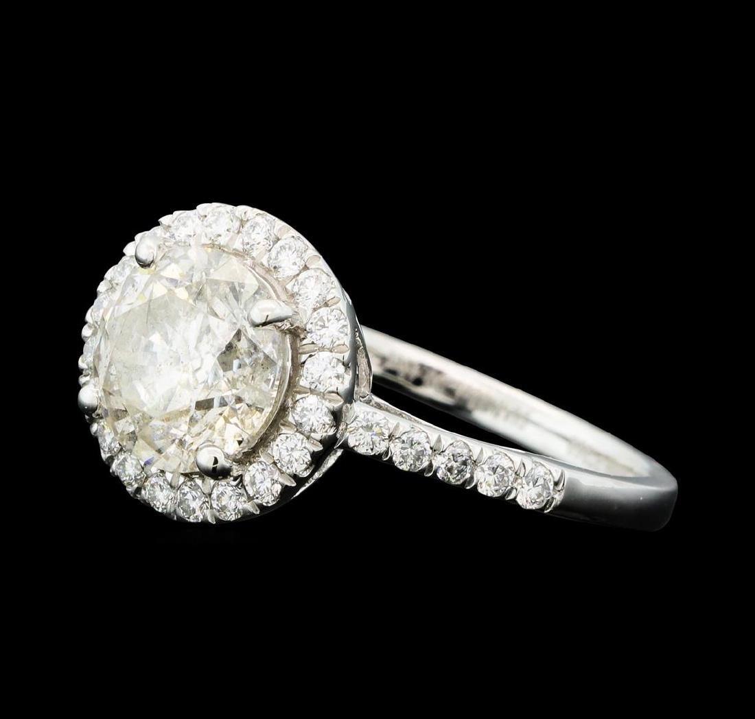 Platinum 2.42ctw Diamond Ring - 2