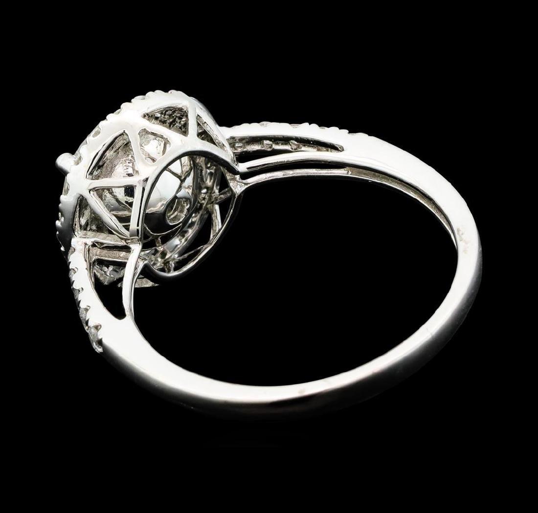 Platinum 2.42ctw Diamond Ring - 3