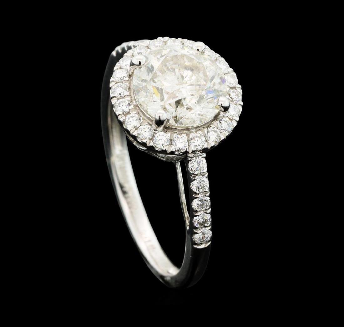 Platinum 2.42ctw Diamond Ring - 4