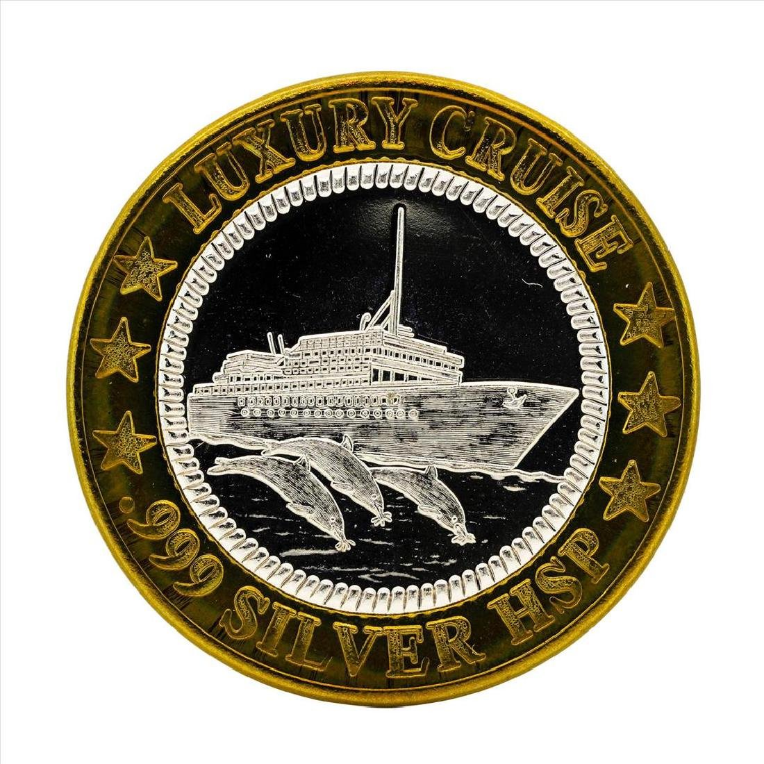 .999 Silver Luxury Cruise Lost Ship $10 Casino Gaming