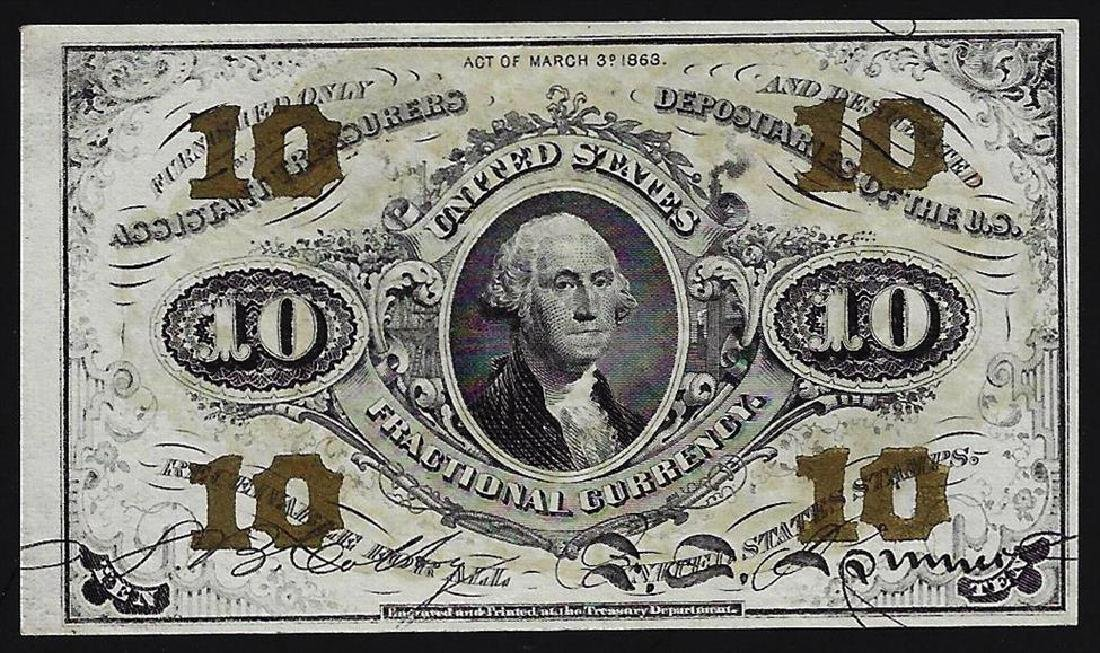 March 3, 1863 Ten Cent Third Issue Fractional Note