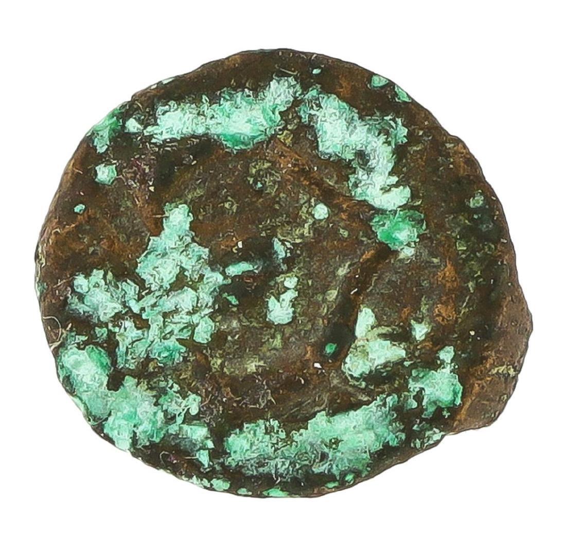103-76 Judaea Alexander Jannaeus Window's Mite Coin - 2