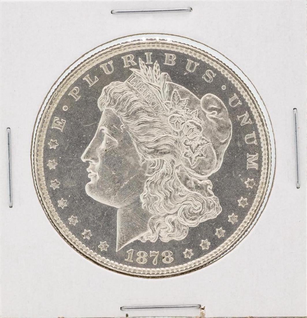 1878 $1 Morgan Silver Dollar Coin