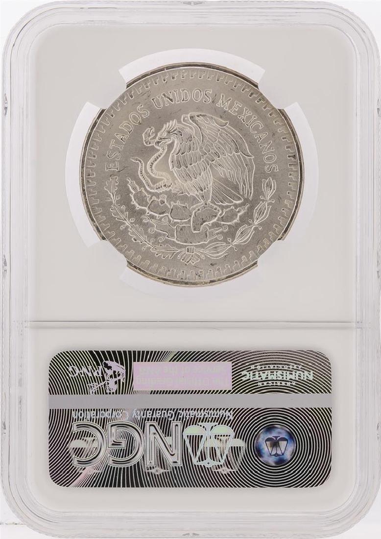 1983MO Mexico 1 Onza Libertad Silver Coin NGC Graded - 2