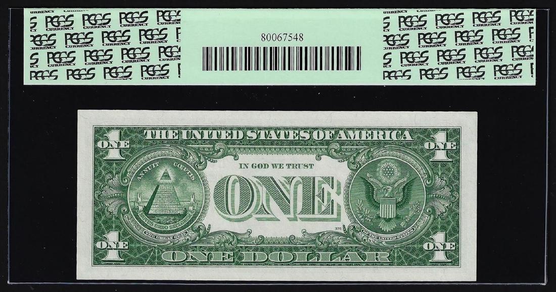 1957A $1 Silver Certificate Note PCGS Gem New 66PPQ - 2