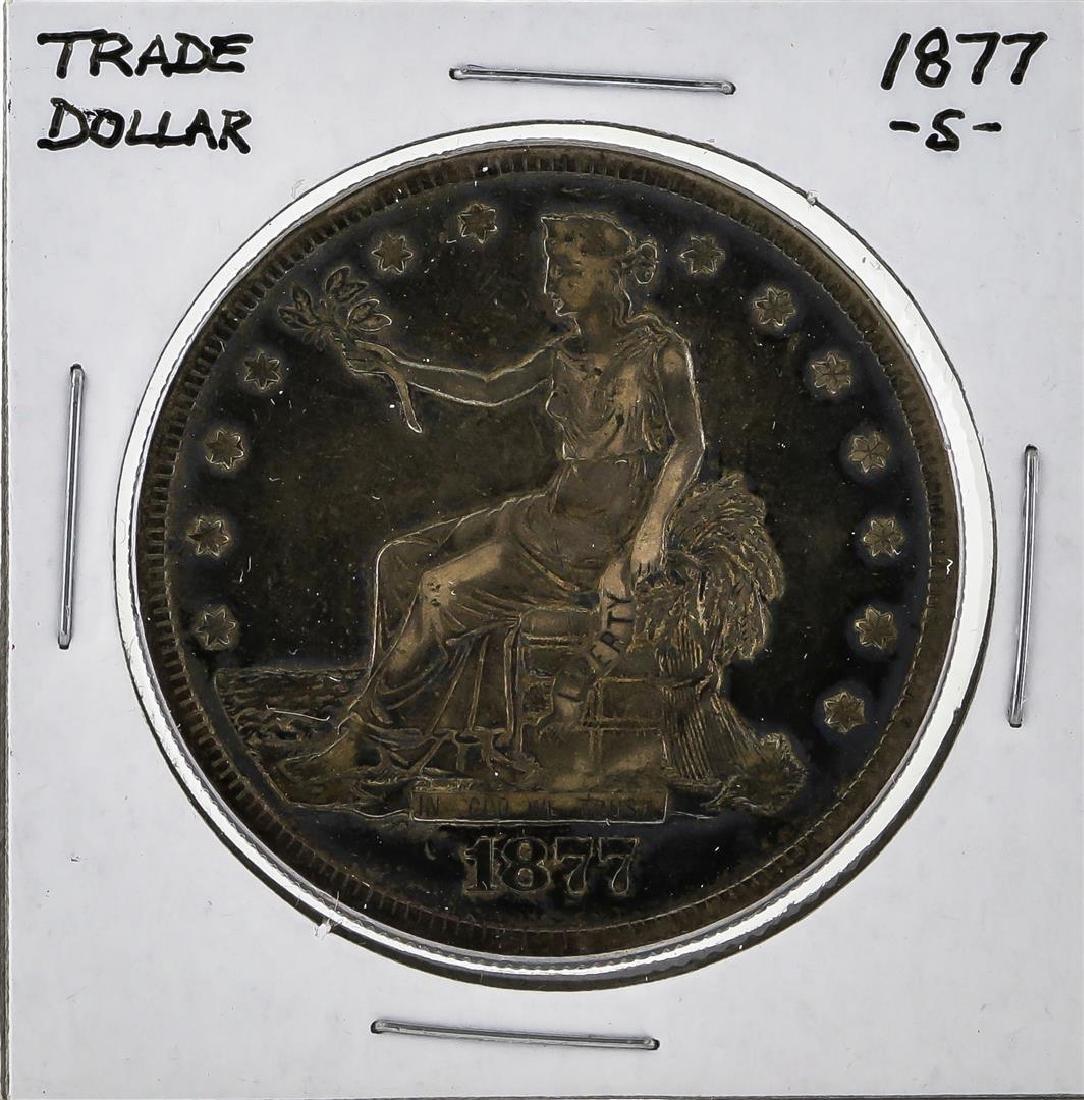 1877-S $1 Trade Dollar Silver Coin