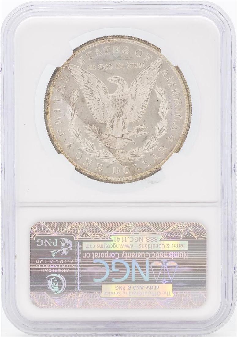 1880/9-S $1 Morgan Silver Dollar Coin VAM-11 NGC MS65 - 2
