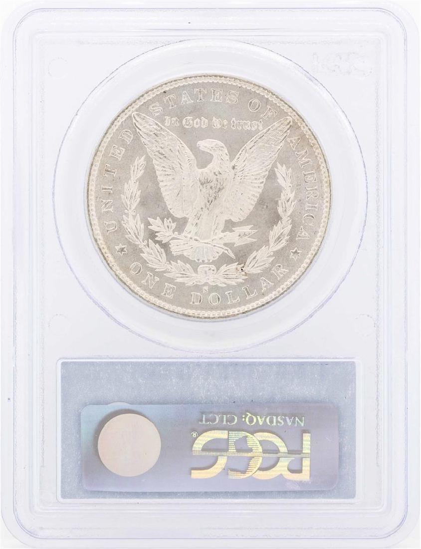 1879-S $1 Morgan Silver Dollar Coin PCGS MS64 - 2