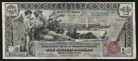 1896 $1 Silver Certificate Educational Note