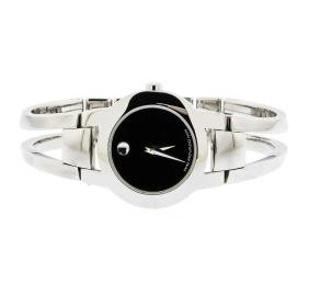 Ladies Movado Museum Amorosa Bangle Stainless Steel
