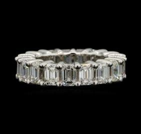 14KT White Gold 7.65ctw Diamond Eternity Band