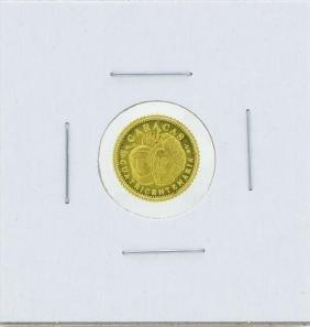 1937 Venezuela 1.5 gram Caracus Gold Coin