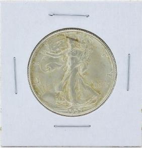 1937-D Walking Liberty Half Dollar Silver Coin