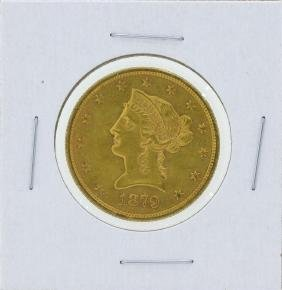1879-S $10 Liberty Head Eagle Gold Coin