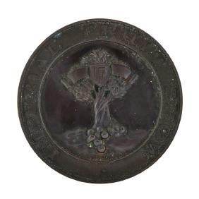 1923 England Imperial Fruit Show Award Medal