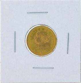 1976 Chile 20 Pesos Gold Coin