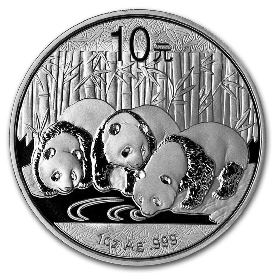 2013 10 Yuan China Silver Panda Coin